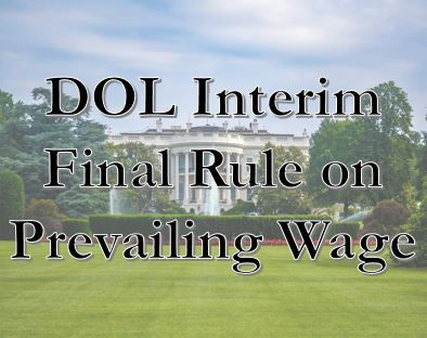 DOL Interim Final Rule on…